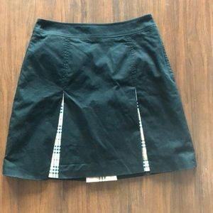 Black Burberry Skirt